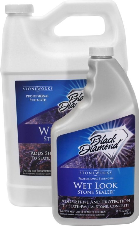 Black Diamond Stonework's Wet Look Natural Stone Sealer review