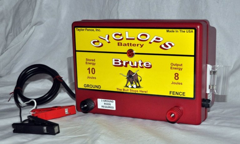 Cyclops Brute – 8 Joule Fence Charger - AC review
