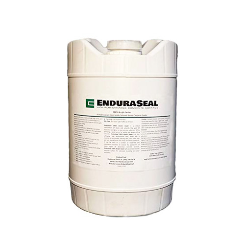 Endura Seal 100% Acrylic Wet Look Semi-Gloss Concrete Sealer Solvent Base