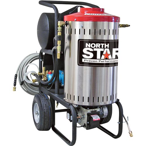 NorthStar 2,750 PSI 2.5 GPM Electric Wet Steam and Hot Water Pressure Washer review