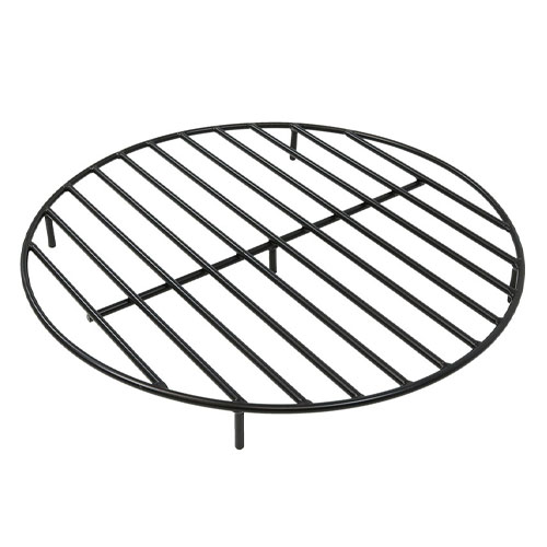Sunnydaze Round Heavy-Duty Steel Fire Pit Grate review