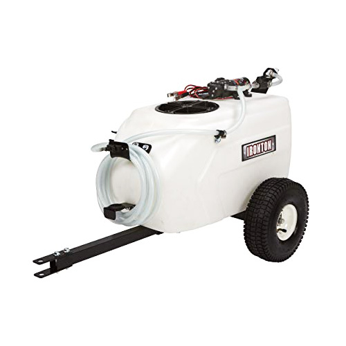 Ironton Tow-Behind Trailer Broadcast and Spot Sprayer review