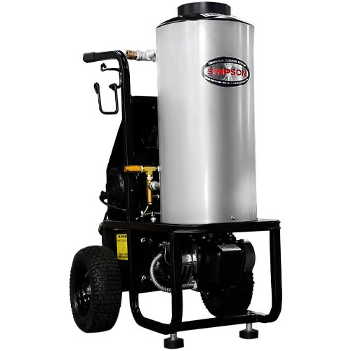 SIMPSON MB1518 1500 PSI at 1.8 GPM Diesel Fired Hot Water Pressure Washer review