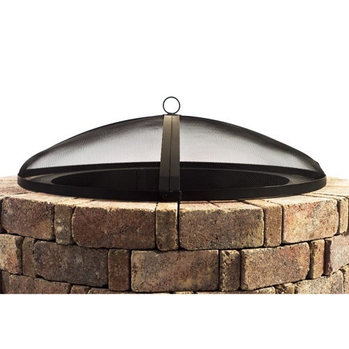 Hampton's Buzaar 40 Inch Round Fire Pit Spark Screen review