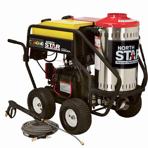 NorthStar 3,000 PSI 4.0 GPM Gas-powered Wet Steam and Hot Water Pressure Washer review