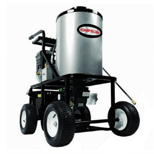 SIMPSON Cleaning KB3028 King Brute 12 Volt Burner System Hot Water Pressure Washer review