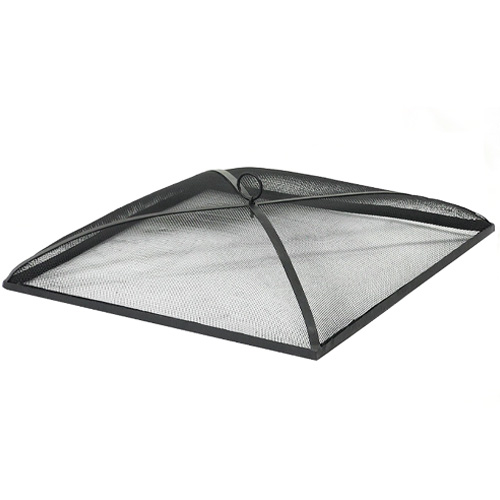 Sunnydaze Square Outdoor Fire Pit Spark Screen Cover Guard review