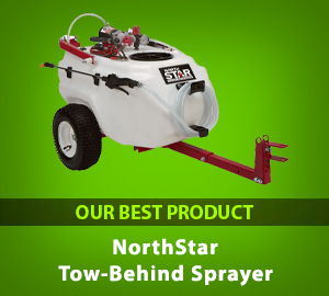 NorthStar Tow-Behind Trailer Boom Broadcast and Spot Sprayer - Our Best Product