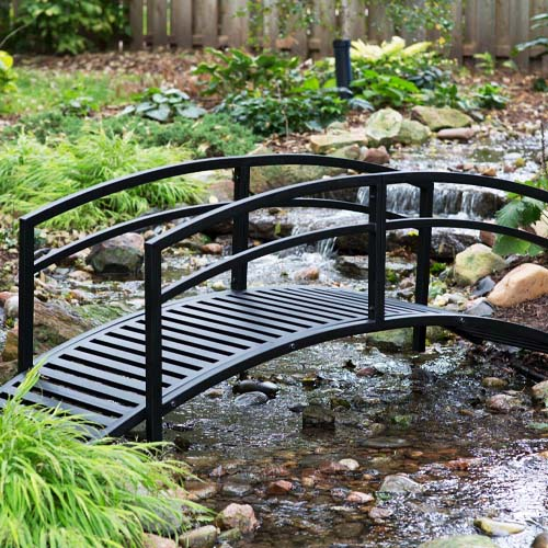 Belham 8 Black Metal Danbury Garden Bridge review