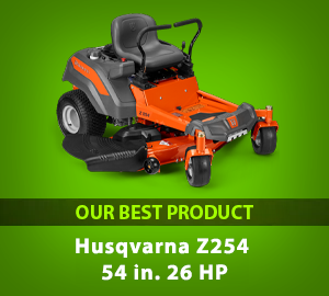 Husqvarna Z254 54 in. 26 HP Kohler Hydrostatic Zero-Turn Riding Mower - Our Best Product