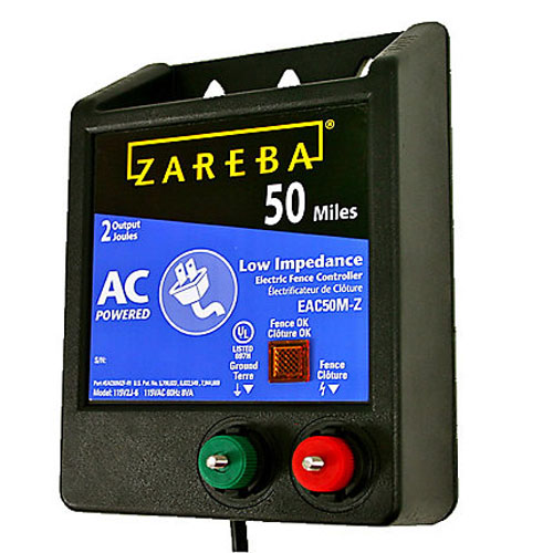 Zareba EAC50M-Z AC-Powered Low-Impedance 50-Mile-Range Charger review