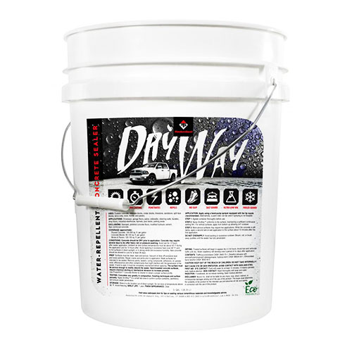 RadonSeal DryWay Water-Repellent Concrete Sealer review