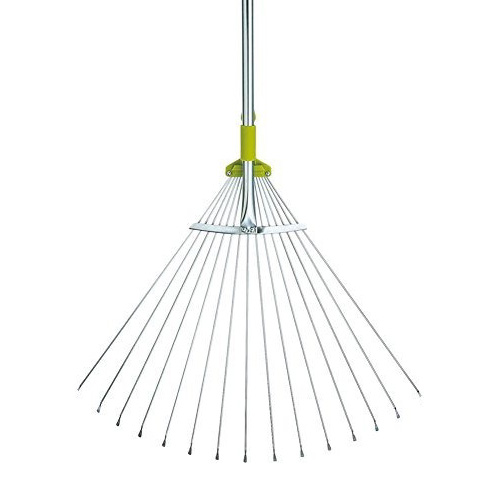 Gardenite 63-Inch Adjustable Garden Leaf Rake review