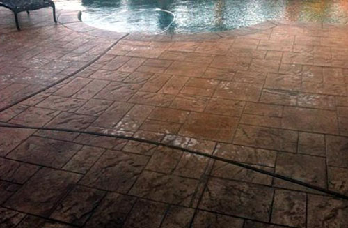 How to Seal Stamped Concrete: How seal stamped concrete