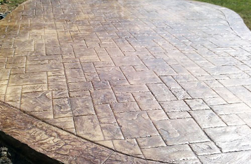 How to Seal Stamped Concrete