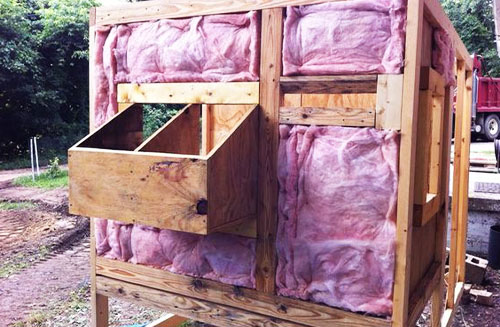 How to Insulate a Chicken Coop: Styrofoam Insulation