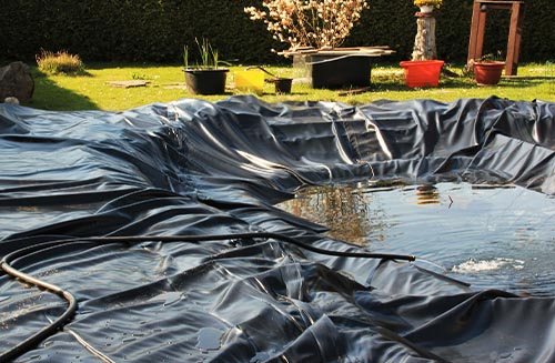 How to Install a Pond Liner: Things Needed