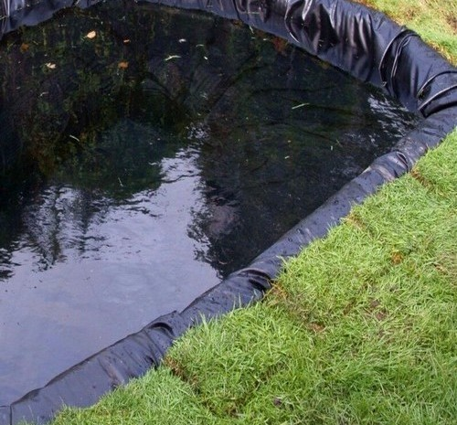 How to Install a Pond Liner