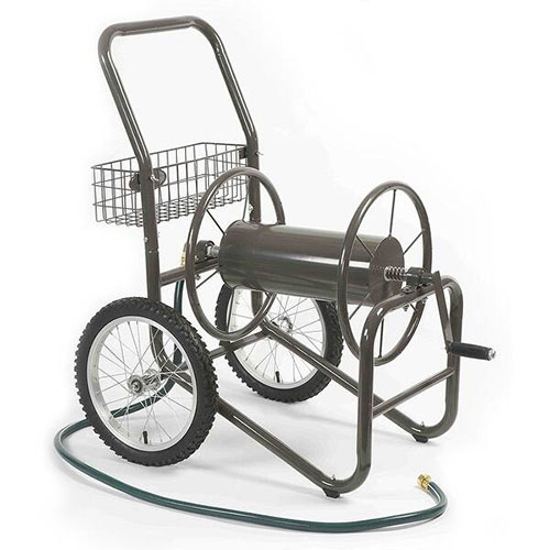 Liberty Garden Products 880-2 Two Wheel Hose Cart review