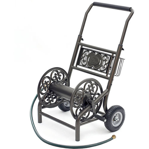 Liberty Garden Products 301 Decorative Two Wheel Hose Cart review