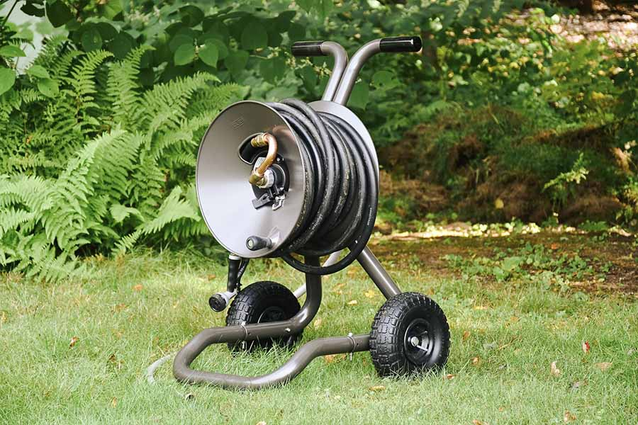Best Garden Hose Reel Carts - Reviews & Guide